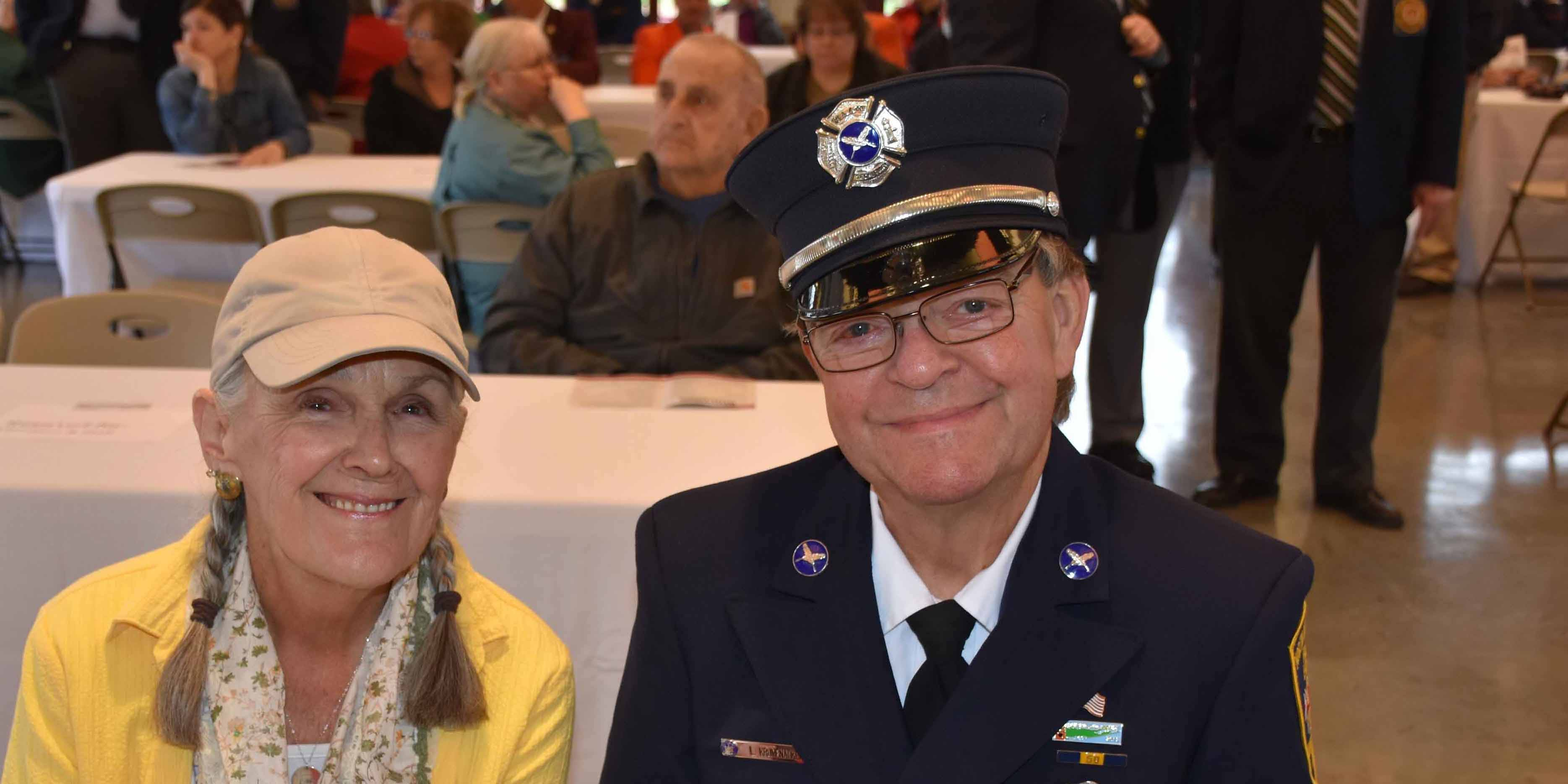 Diane-Soper-and-Larry-Krumenacker-of-North-Amityville-Fire-Co